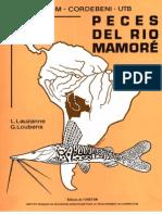 PECES DEL RIO MAMORÉ-ORSTOM