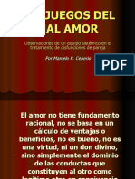 LOS JUEGOS DEL MAL AMOR CHILE