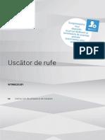 Manual Uscator de Rufe Premium Bosch