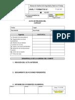 FT-SST-007 Formato de Acta de Reunión del COPASST