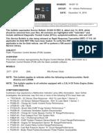 Flash Powertrain Control Module (PCM) Updates