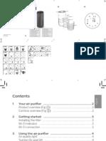 Manual Philips purificator de aer