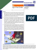 Post Dollar Wprld - Sanjeev Sanyal - DB - 2011