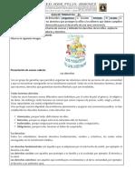 Guía N°1 III periodo C. Sociales Grado 4