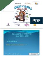 FISCALIDAD ARTISTAS ESPAÑA 2020