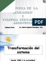 07-Historia de la educación 7 A (1983 actualidad)