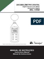 MSL-1355B-1102-BR decibelimetro