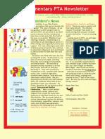 Okte Elementary School PTA newsletter