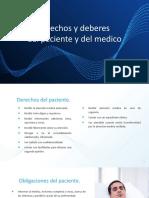 FUNDAMENTO LEGAL DE DERECHOS Y DEBERES DE PX Y MEDICOS