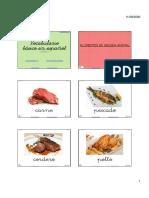 Vocabulario básico en español completo (6xpág)