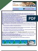 Gowana Middle School Newsletter