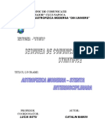 ASTROFIZICA MODERNA - STIINTA INTERDISCIPLINARA