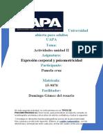 PSICOMOTRICIDAD ACTIVIDADES II.docx