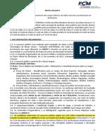 Edital Concurso ACS - BARBAENA