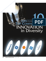 Diversity Journal   2005 Innovations in Diversity Awards