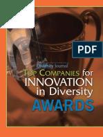 Diversity Journal | 2006 Innovations in Diversity Awards