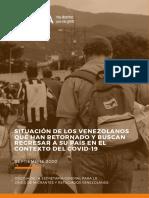 OEA Retornados Venezolanos ESP