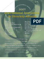 Diversity Journal | 2007 Innovations in Diversity Awards