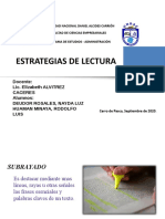 ESTRATEGIAS DE LECTURA NAYDA DEUDOR Y RODOLFO HUAMAN