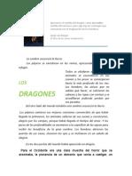 Dragones. Gustavo Roldan del libro bestiario