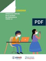 OPERATIVO VIRTUAL EN EL ESTADO DE EMERGENCIA COVID-19