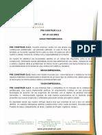 Cotizacion don Adonias Alfonso 36 M2 Y 80M2