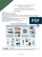 GRADO 8° SOCIALES REVOLUCION INDUSTRIAL GUIA No. 10