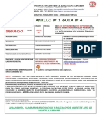 ACTIVIDAD DE CIENCIAS NATURALES, MATEMATICA Y TECNOLOGIA. Grado 6o.