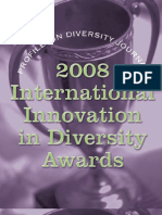 Diversity Journal | 2008 Innovations in Diversity Awards