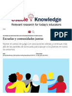 Escuelas y comunidades juntas _ Harvard Graduate School of Education