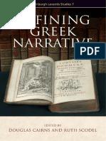Scodel Ruth - Defining Greek narrative