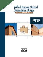 APA Simplified Wall Bracing Method