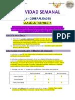 ACTIVIDAD SEMANAL L1- 2020 (Clave de respuesta)