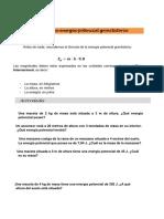 SITUACIONES PROBLEMATICAS! ENEGIA MECANICA- ENERGIA POTENCIAL Y CINETICA