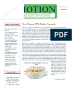 In Motion Newsletter, September 2020