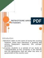 PATRIOTISME AMONG UiTM STUDENT