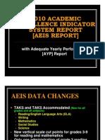 2010 AEIS Board Presentation