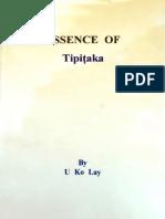 Essence of Tipitaka