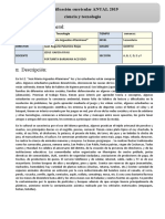 PROGRAMACION ANUAL DE CTA DE 5°