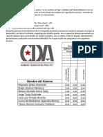 Instrucciones exámenes CDA Tap Historia T. M.