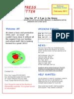 Berthoud Elementary PTA Newsletter February