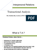 Lecture29 [Analysing Interpersonal Relations(T.A.)]