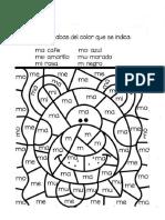 MATERIAL DE APOYO Y PARA EJERCICIOS DE MOTRICIDAD FINA - TRANSICION