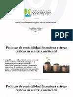 POLITICAS AMBIENTALES Y DESARROLLO SUSTENTABLE