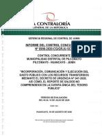 """Advierten """"Desnaturalización de Contratos"""" en Perjuicio de La Municipalidad de Pilcomayo"""