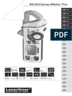 manual amperimetro laser liner español
