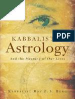 Kabalistic Astrology, Rav Berg