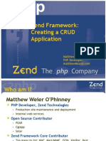 Using Zend Framework 2 | Php | Object Relational Mapping