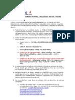 Novos Procedimentos de pagamentos de faturas