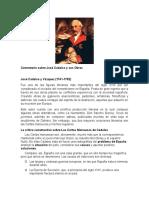 Jose Cadalso y VÃzquez Comentario trabajo en grupo